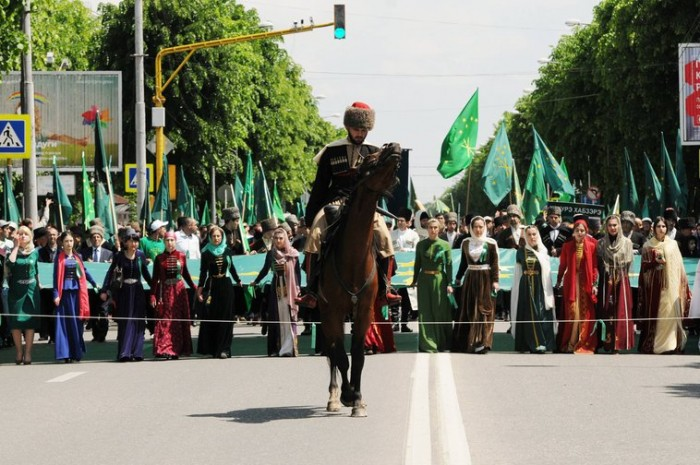 Every year, on 21 May, Circassians hold marches in memory of those who died in the Caucasus Wars | Nauruz Aguey